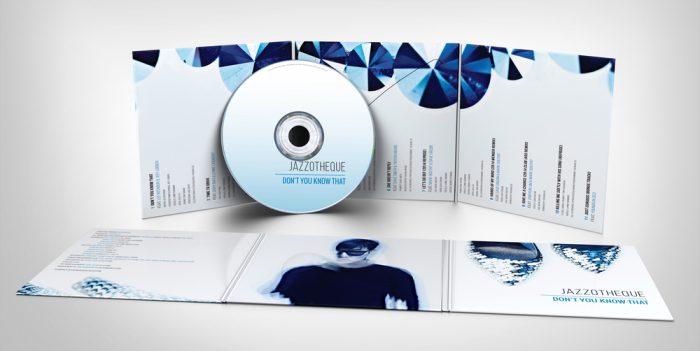 in bao đĩa và nhãn đĩa CD
