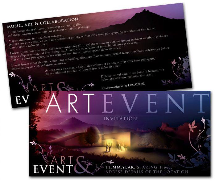 in thiệp mời sự kiện