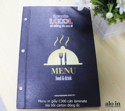menu cán màng laminate