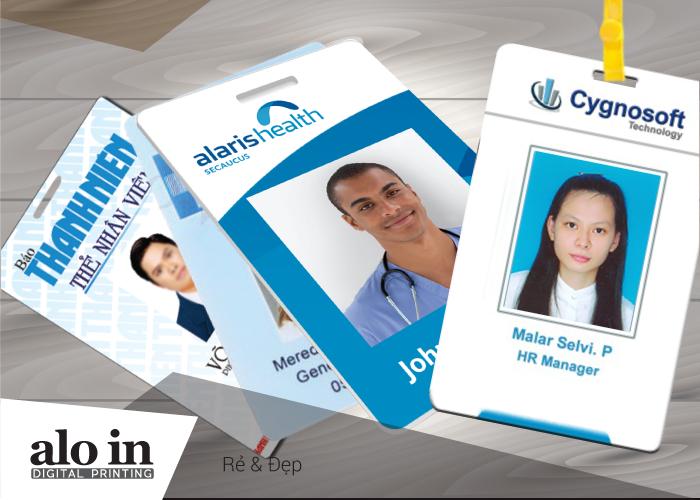 Thẻ nhân viên bằng PVC