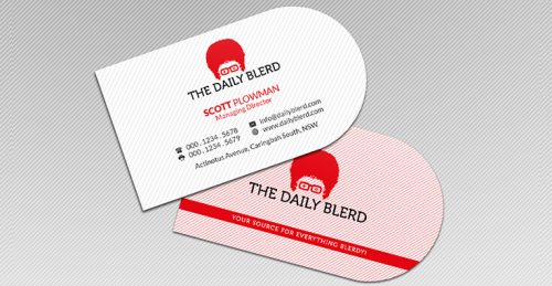 In name card tphcm - name card bế tròn 1 đầu
