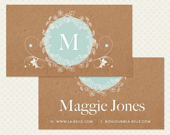 in card visit lấy ngay 5 màu lót trắng trên giấy kraft