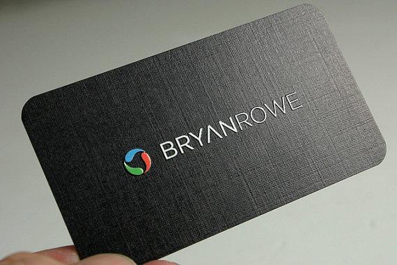 in card visit trên giấy K02