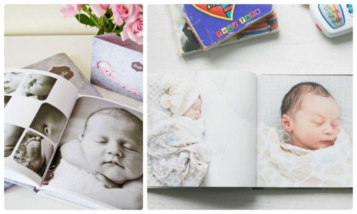 in photobok giá rẻ dạng tạp chí cho bé
