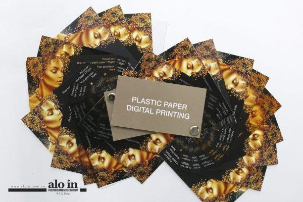 in nhanh trên giấy nhựa cao cấp