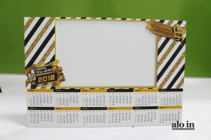 Khung hình giấy để bàn 6 lớp